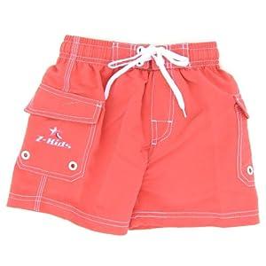 Z-KIDS(ゼット・キッズ) サーフパンツ 女の子 ポケット付き Lサイズ ピンク