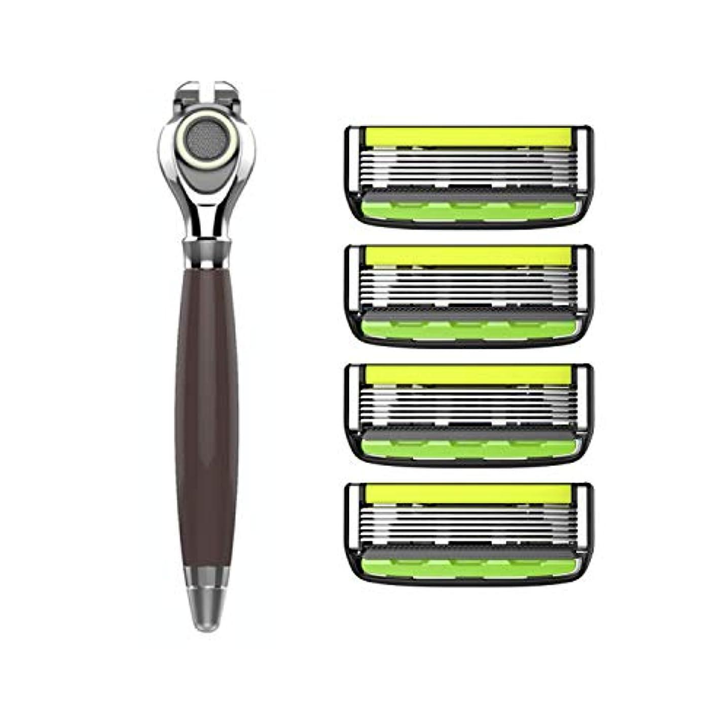 参照する空虚付録Dorco Pace 5: 5-Blade Manual Razor for Men & Women - Premier Precision- Common Docking System Compatible with...