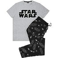 vanilla underground Star Wars Distressed Logo Men's Loungepants & T-Shirt Pyjama Set