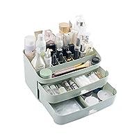 メイクオーガナイザー収納引き出し、カウンタートップ化粧品ケースジュエリーボックス、ブラシ、リップスティック、ファウンデーション、アクセサリー