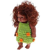 perfk 全4色 新生児人形 ベビーガールドール 衣装アクセサリー ベビー人形 妊娠 育児 親体験 ベビー ケア トレーニング モデル - #3