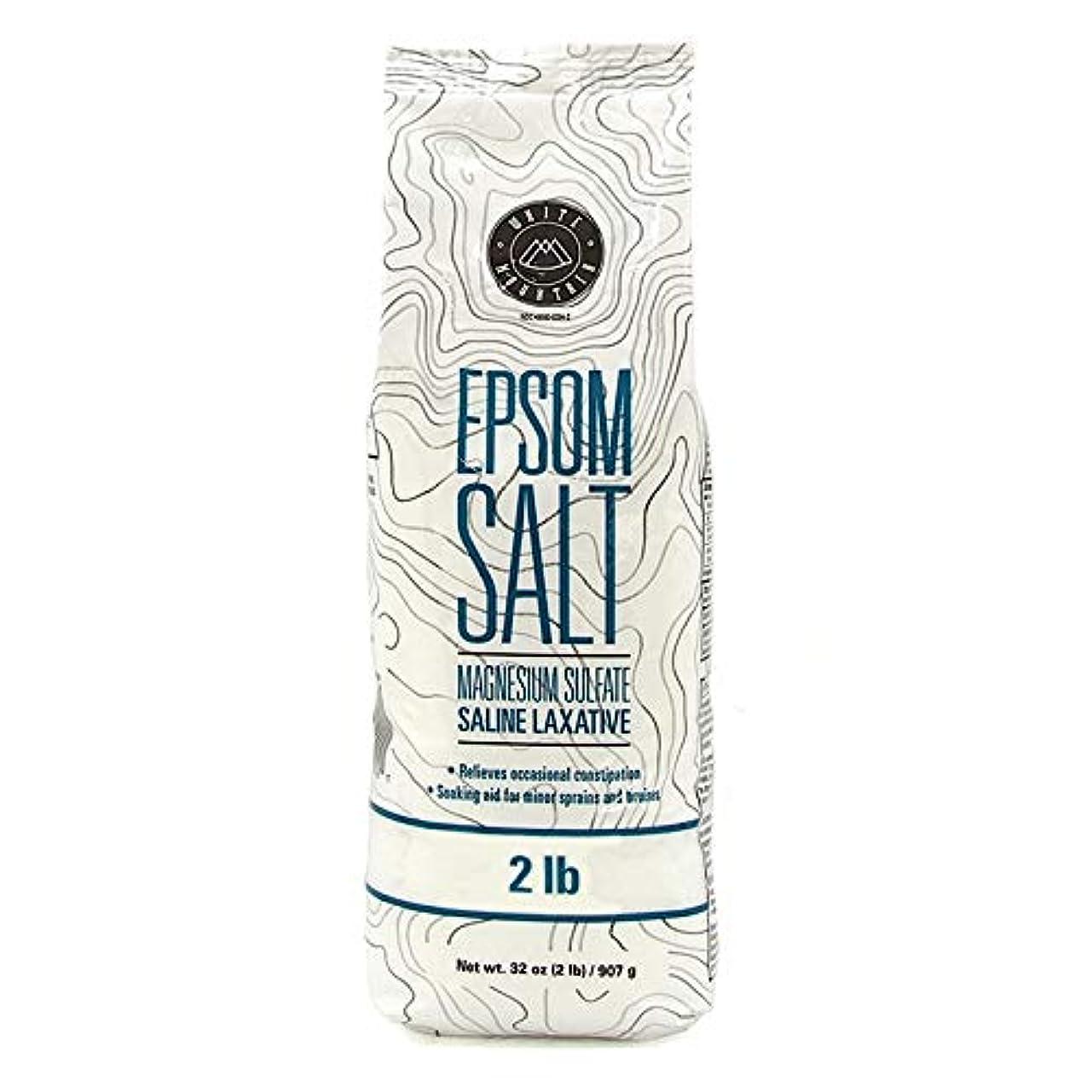 禁止する廃棄ズームインするEpsom Salt エプソムソルト / 100% Natural Mineral / エプソム塩 / マグネシウム入浴剤 / 無色?無臭