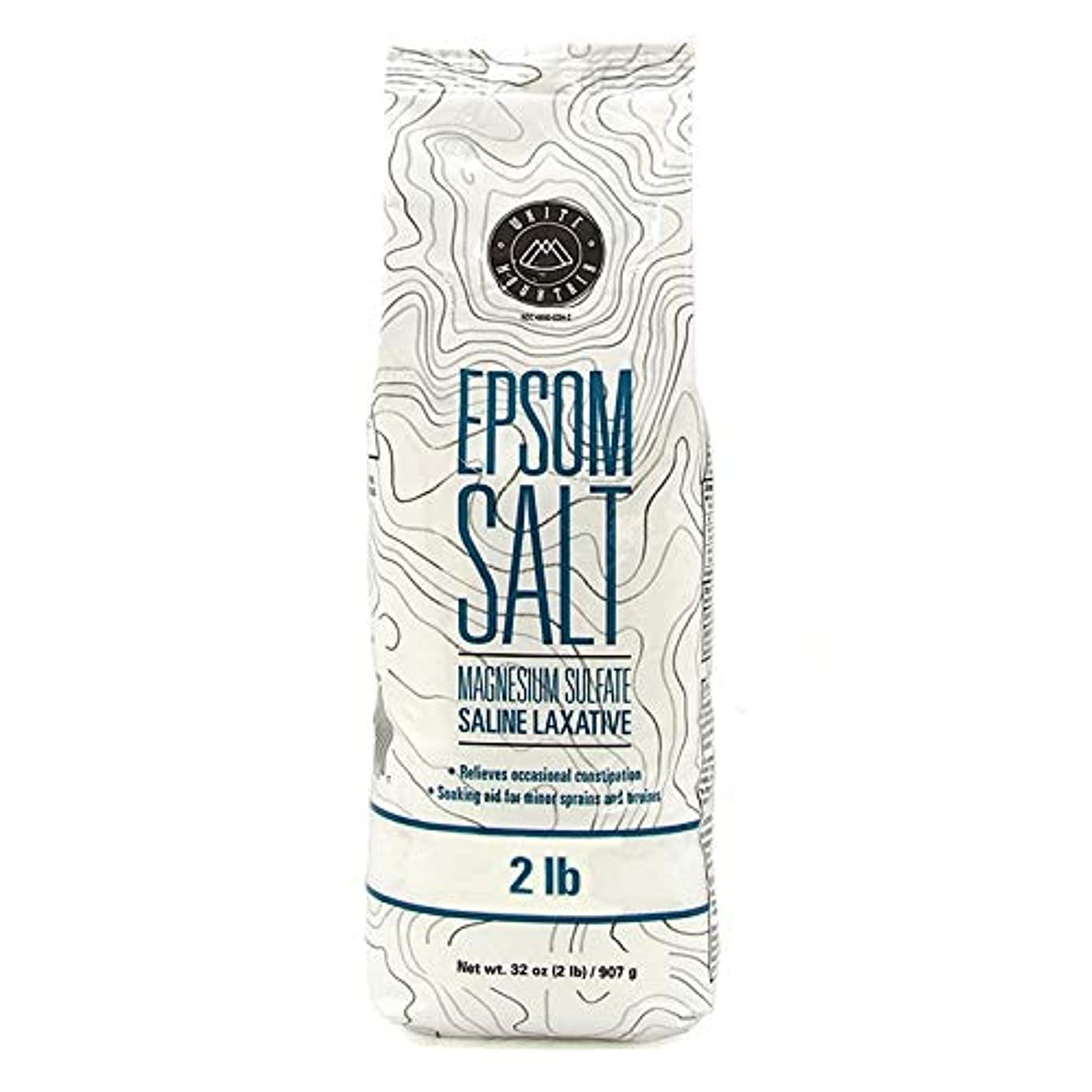 中傷必需品北極圏Epsom Salt エプソムソルト / 100% Natural Mineral / エプソム塩 / マグネシウム入浴剤 / 無色?無臭