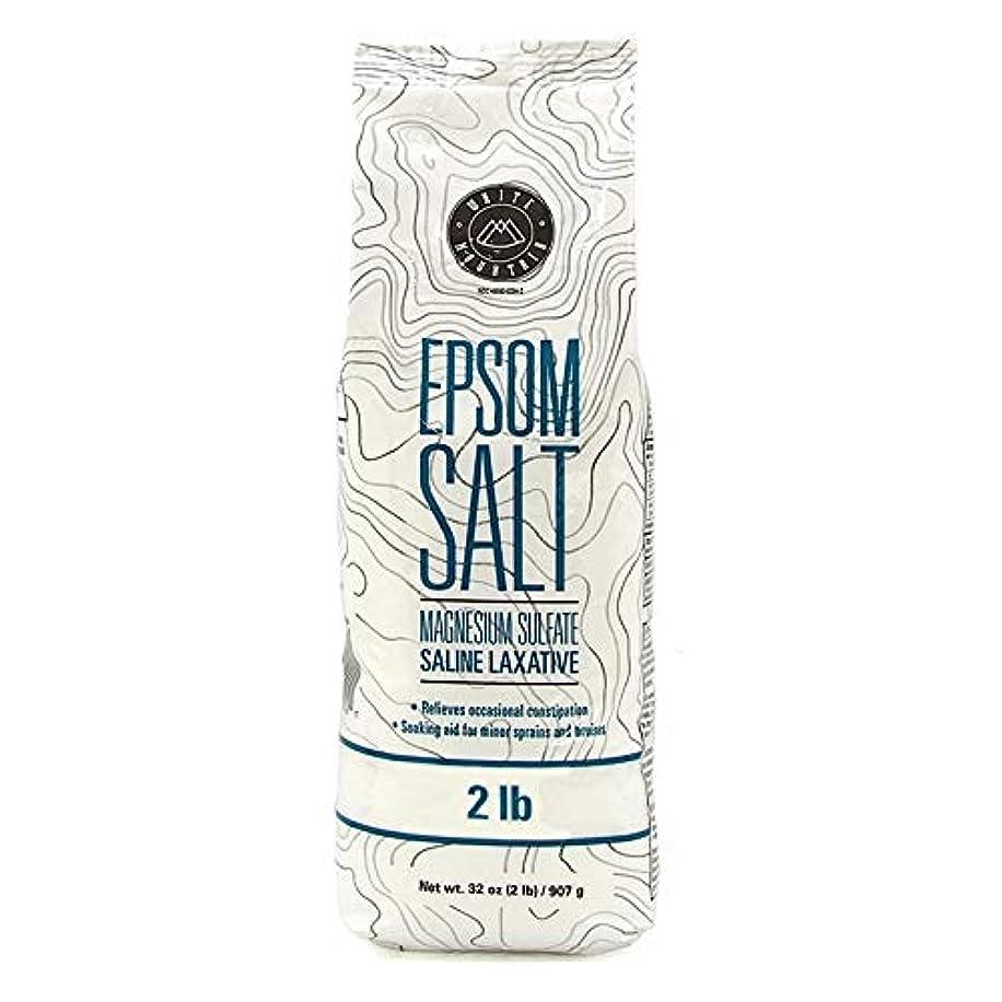 チップ失業者平日Epsom Salt エプソムソルト / 100% Natural Mineral / エプソム塩 / マグネシウム入浴剤 / 無色?無臭