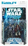 Star Wars Clone Wars Action Figure Comic 2-Pack Dark Horse: Obsession #3 Anakin Skywalker and Durge by Hasbro [並行輸入品]