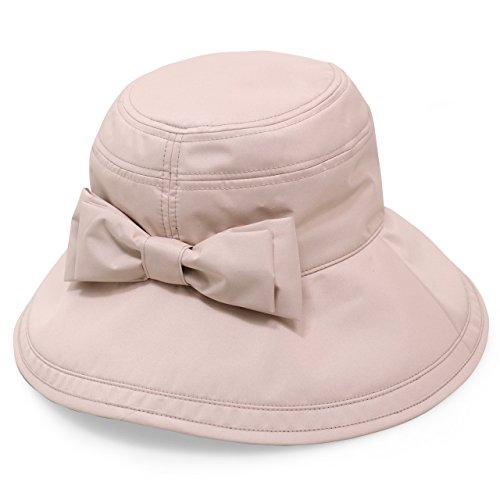 Rose Blanc(ロサブラン) 100%完全遮光 帽子 リボンハット12cm(ポケット付) (Pink(ピンク))