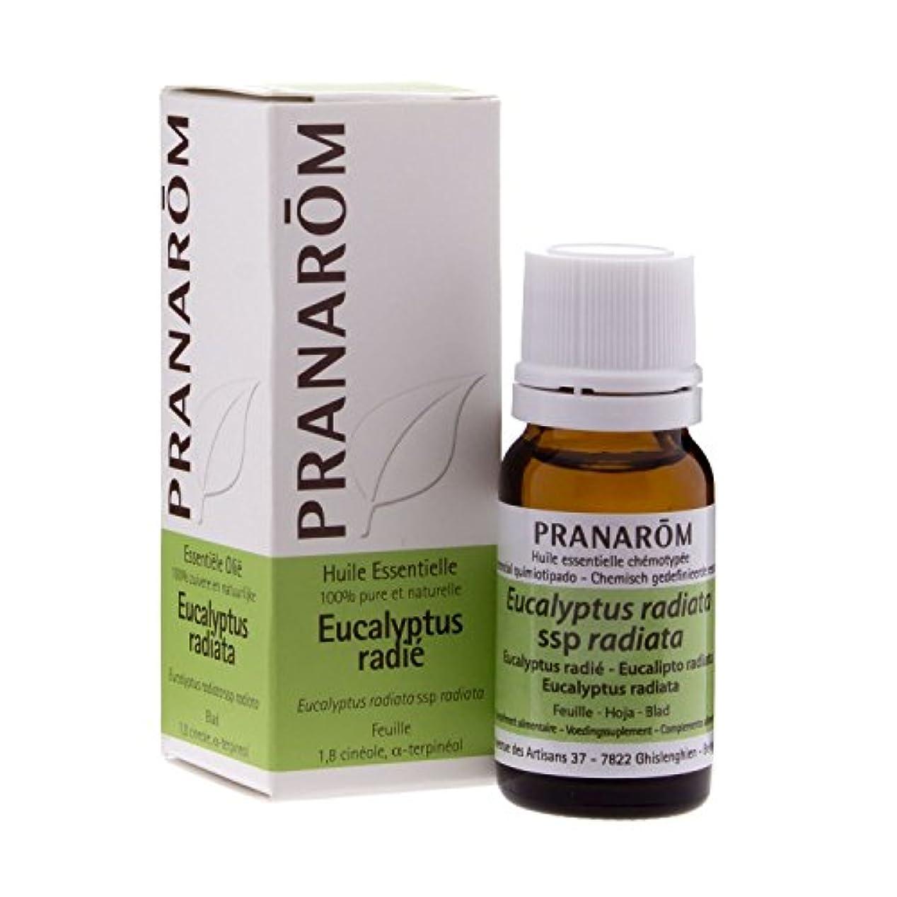 部分的定期的な人種プラナロム ユーカリラディアタ 10ml (PRANAROM ケモタイプ精油)[並行輸入品]