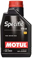 Motul 106317OEM特定5W20合成オイル、12L、1パック