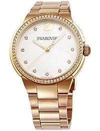 [スワロフスキー]SWAROVSKI 腕時計 シティ ミニ ホワイトマザーオブパール クォーツ ローズゴールドPVDブレス 5221176 レディース 【並行輸入品】