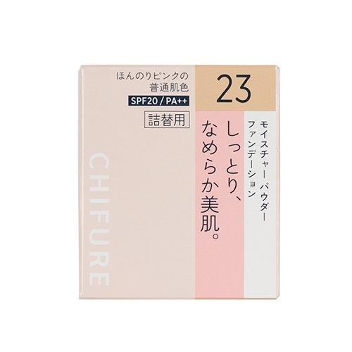 ちふれ化粧品 モイスチャー パウダーファンデーション(スポンジ入り) 23 ピンクオークル系 MパウダーFD23