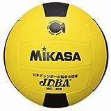 ミカサ ドッジボール 公認球 3号 全国ドッジボール選手権大会公式試合球 小学校用 MGJDB Y/BK