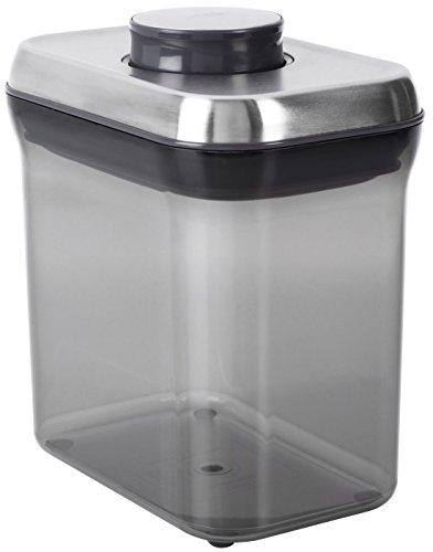 OXO 保存容器 密閉 コーヒー&ティー ポップコンテナ レクタングル ショート 1.4L 1195400