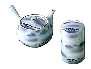 Amazon|急須 : 有田焼 連山 茶筒付急須|急須 オンライン通販