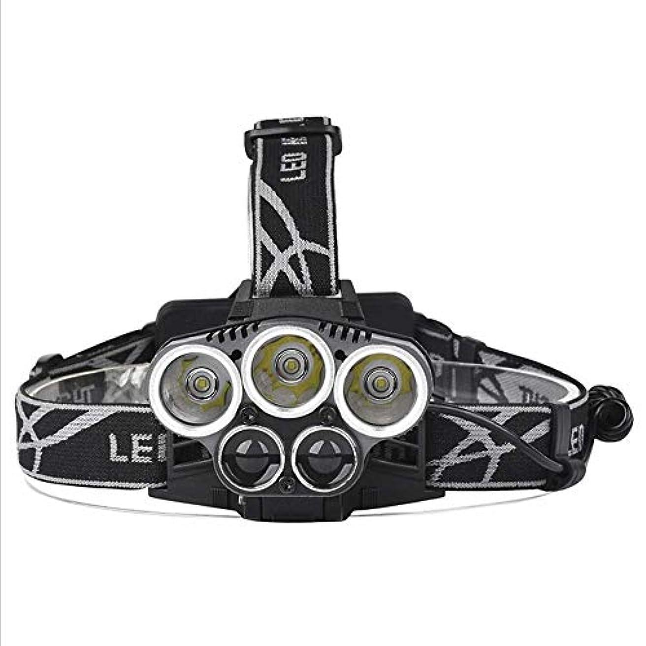 アーチ同一のクモCHENNAO USB充電式LEDヘッドライト、6モード、IPX 6防水、ショルダーストラップ調整可能LEDヘッドライト、ランニング、釣り、キャンプ、ハイキング
