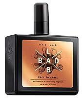 BADLAB spraycall武器体臭細菌の悪魔と悪に対する信頼性の高い保護を提供するために、抗菌消臭100ミリリットルを、。