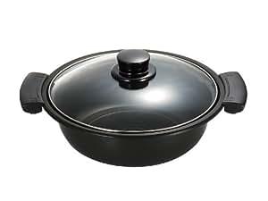 パナソニック 斡旋鍋 IH調理器用 ブラック KZ-AN10-K
