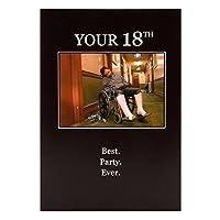 18–Your Best。パーティー。Ever。メンズ誕生日カード