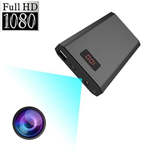 i-pelay 1080Pフル HD隠しカメラ モバイルバッテリー型カメラ 大容量 10000mAh...