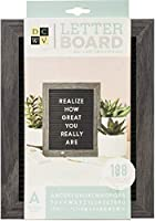 Die Cuts With A View Standup レターボード - 5 x 7 - Black with Grey Frame (189 個) 614939
