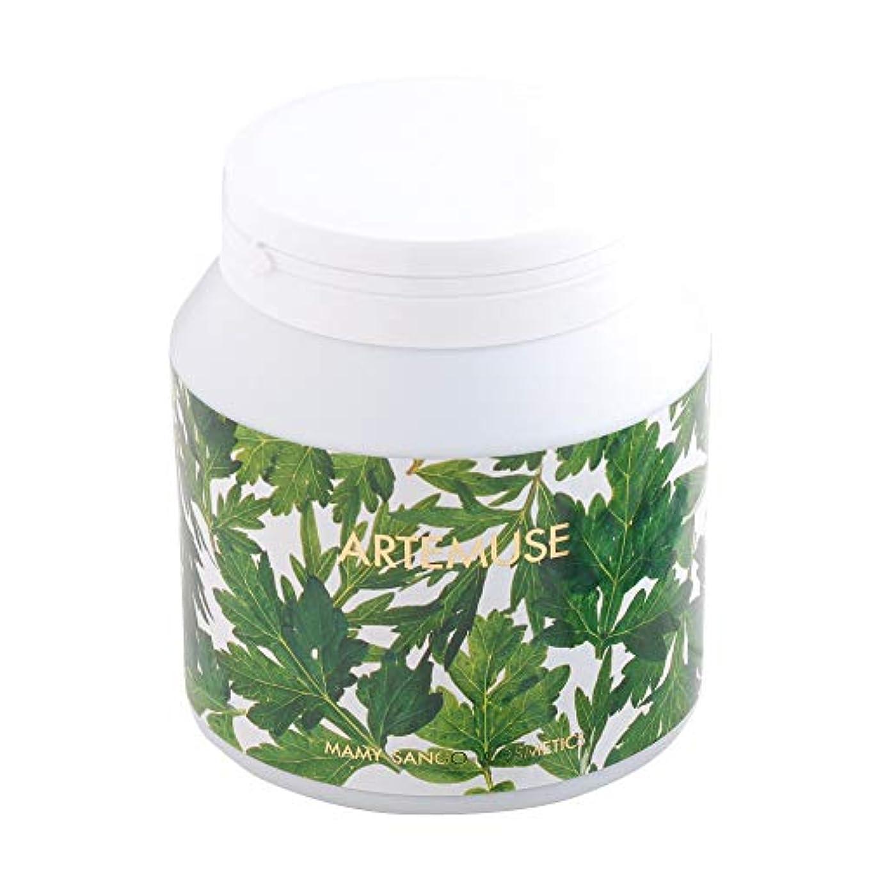 ドール器用強制的マミーサンゴ よもぎ入浴剤 薬用バスソルトA [ボトルタイプ] 1.2kg (1個)