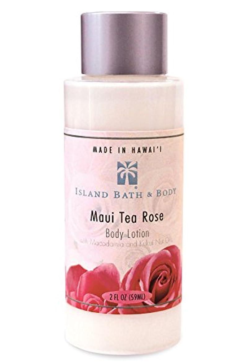 準備したクレーターパンフレットボディーローション 2oz/Maui Tea Rose