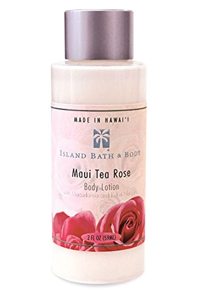 ロゴ枠住所ボディーローション 2oz/Maui Tea Rose