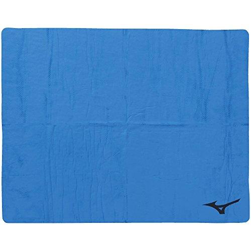 ミズノ(MIZUNO) スイムタオル 高吸水 セームタオル 暑さ対策 水泳 プール N2JY801027 ブルー 大(44×68cm)