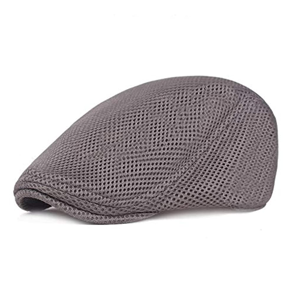 無し医師ウルルメッシュ ハンチング キャップ 夏用 綿 ベレー帽 調整可能ワークキャップ アウトドアキャップ 男女兼用