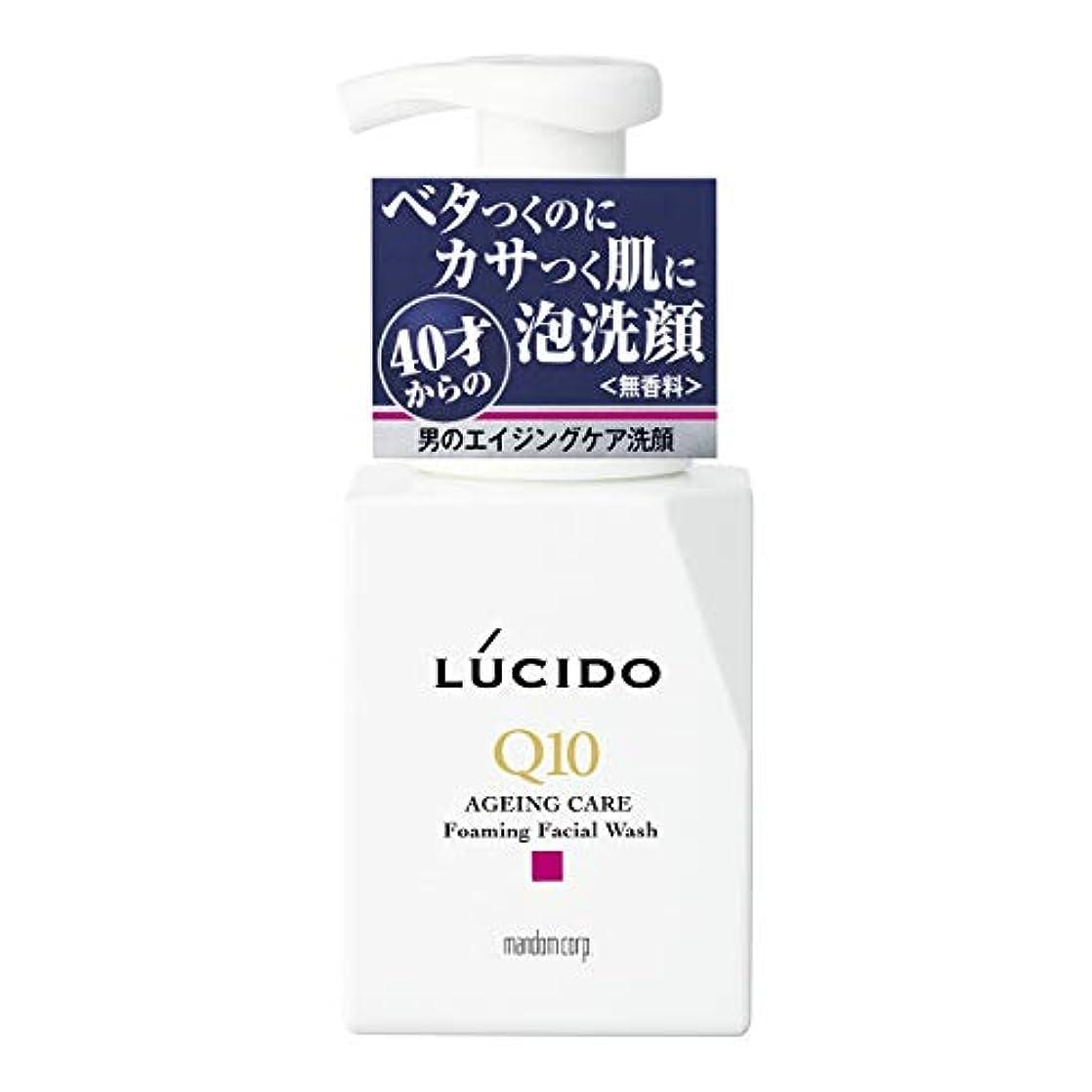 冊子擬人化パイLUCIDO(ルシード) トータルケア泡洗顔 Q10 150mL