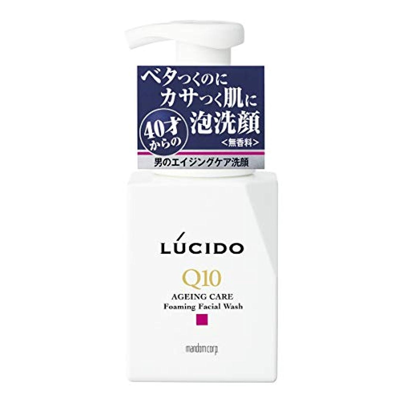 かわいらしい懐疑的根拠LUCIDO(ルシード) トータルケア泡洗顔 Q10 150mL