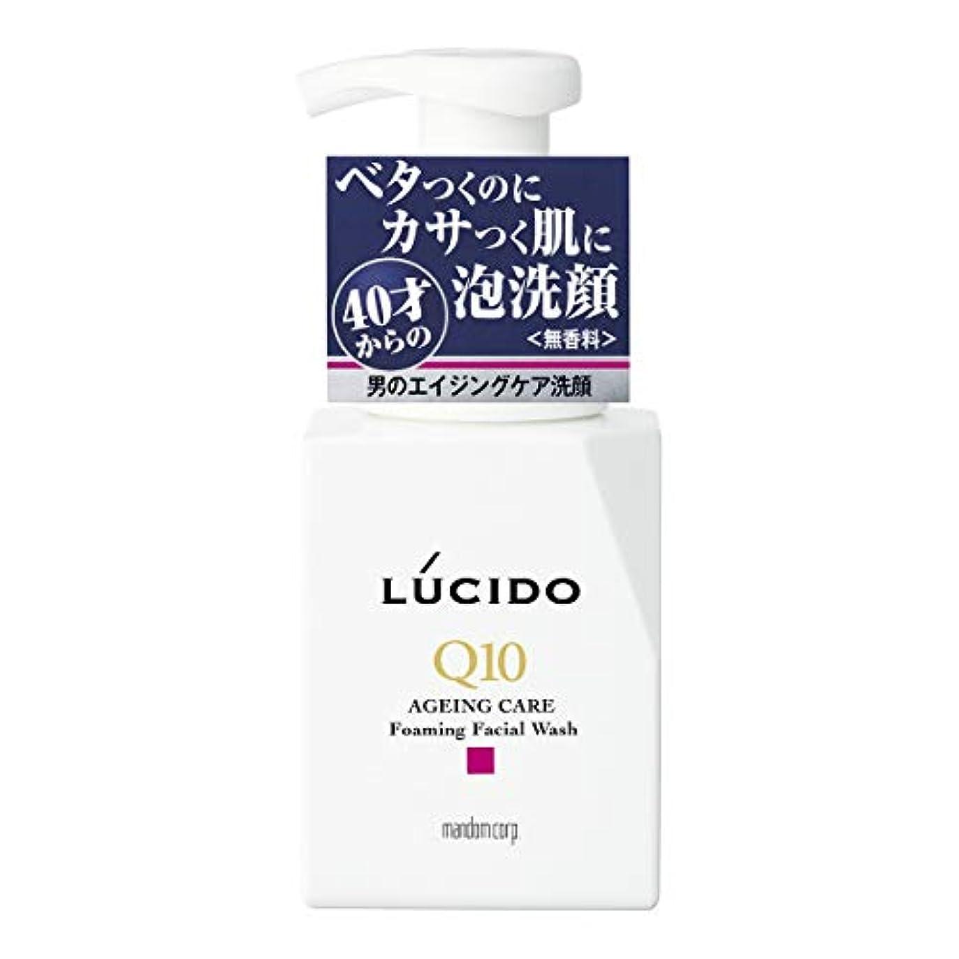 不利益前兆ページェントLUCIDO(ルシード) トータルケア泡洗顔 Q10 150mL