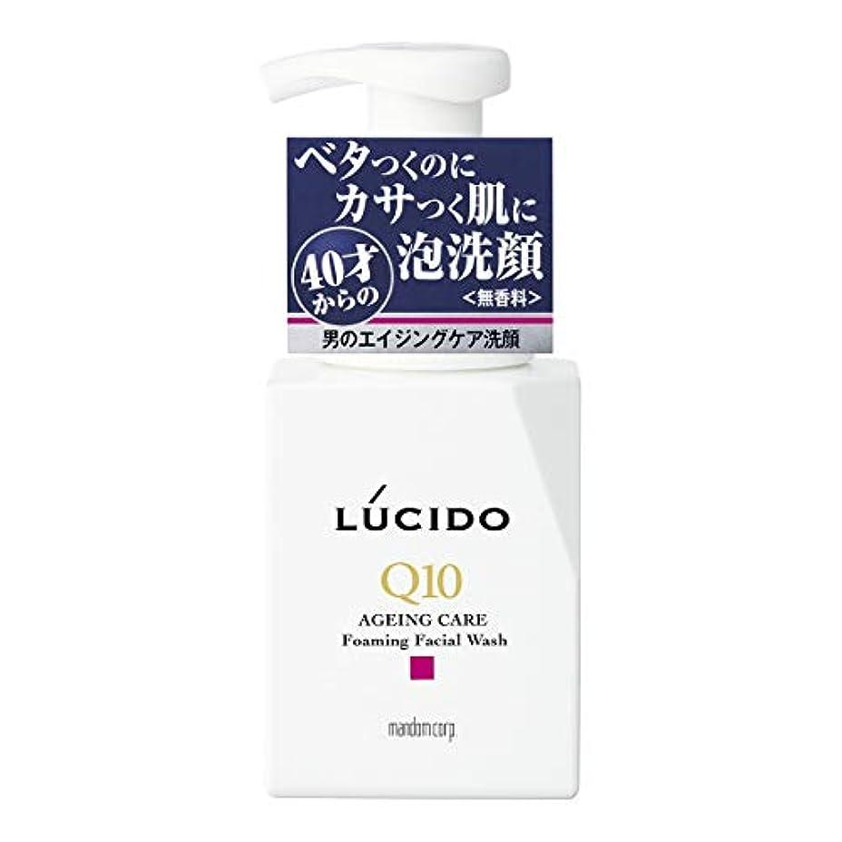 バイアスパイ好戦的なLUCIDO(ルシード) トータルケア泡洗顔 Q10 150mL
