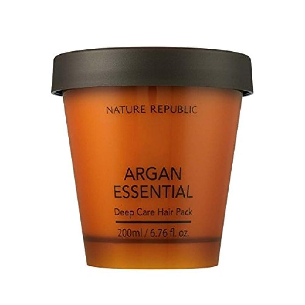 森林蓮ボイドNATURE REPUBLIC/ネイチャーリパブリック ARGAN ESSENTIAL DEEP CARE HAIR PACK / アルガンエッセンシャル ディープ ケア ヘアパック(海外直送品)