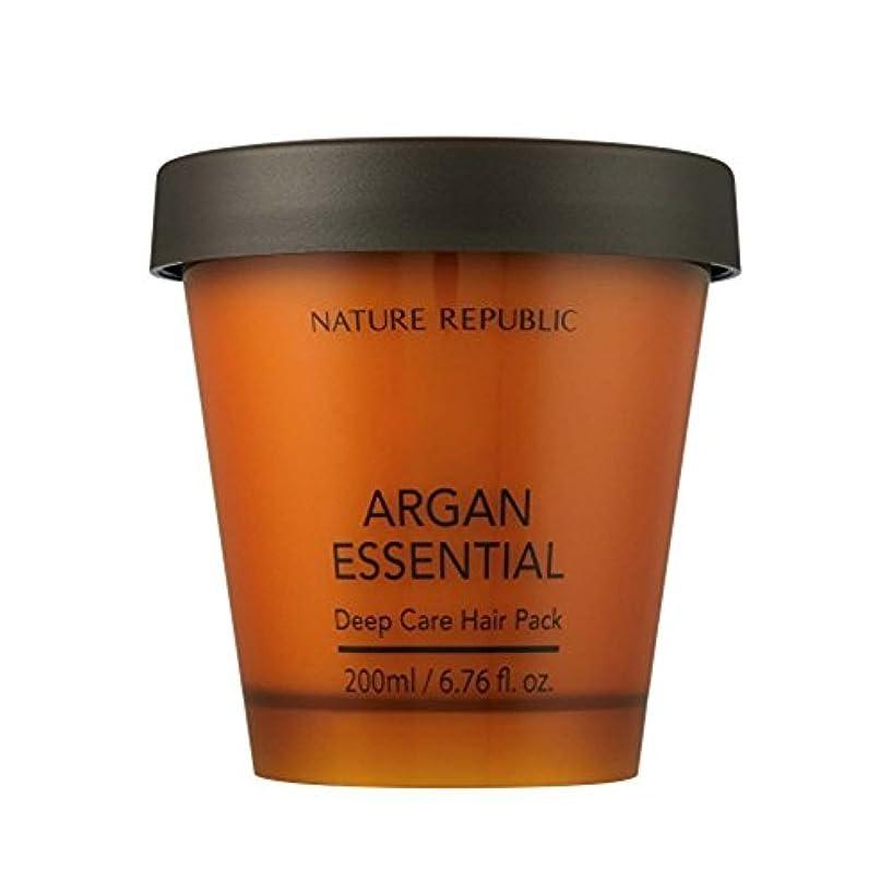 ポーク筋肉の安全性NATURE REPUBLIC/ネイチャーリパブリック ARGAN ESSENTIAL DEEP CARE HAIR PACK / アルガンエッセンシャル ディープ ケア ヘアパック(海外直送品)