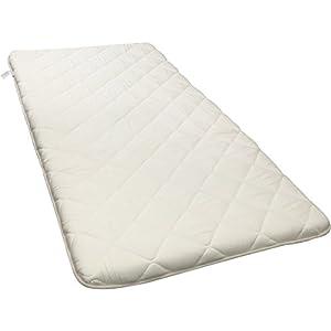 敷布団 日本製 抗菌 防臭 防ダニ 吸汗 速乾 超ボリューム 3層 厚さ11cm シングル ホワイト