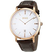 Hugo Boss Men 1513463 Year-Round Analog Quartz Brown Watch