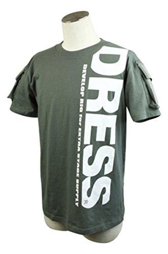 ドレス(DRESS) タクティカルTシャツ LD-OP-4608 レンジャーグリーン XL