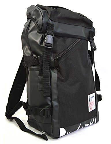 [ラーキンス]LARKINS タフさとデザイン性を併せ持つ バックパック LKPM03 ブラック