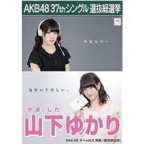 【山下ゆかり】ラブラドール・レトリバー AKB48 37thシングル選抜総選挙 劇場盤限定ポスター風生写真 SKE48チームK2