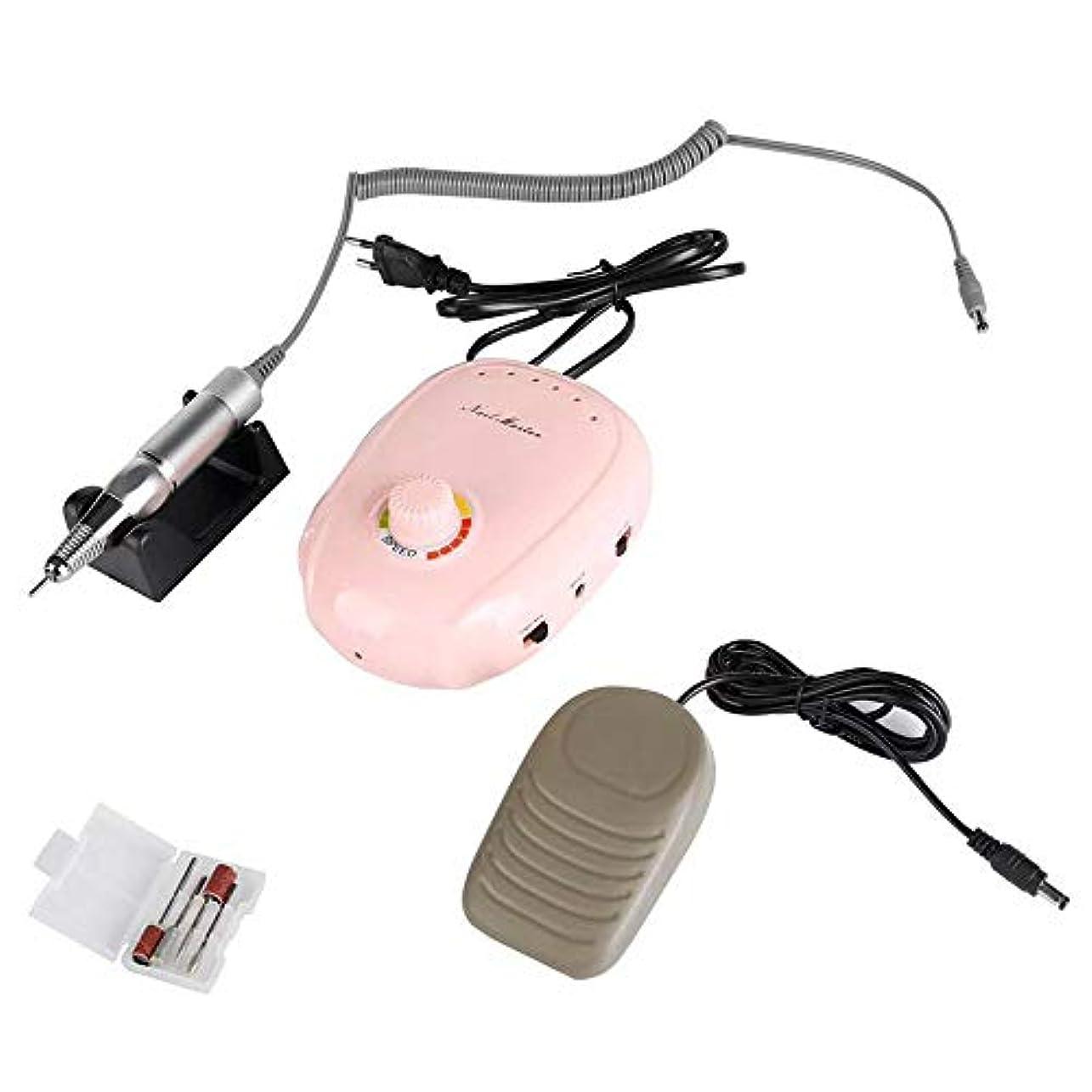 聴覚名声マットレス釘のドリル機械、アクリルのための専門の再充電可能な携帯用釘のドリルのアクリルの釘機械電気釘ファイル