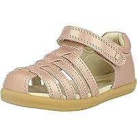 Bobux i-Walk Jump Rose Gold Shimmer Leather Infant Fisherman Sandals