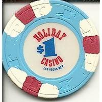 $ 1 HolidayカジノRare Obsoleteラスベガスカジノチップ