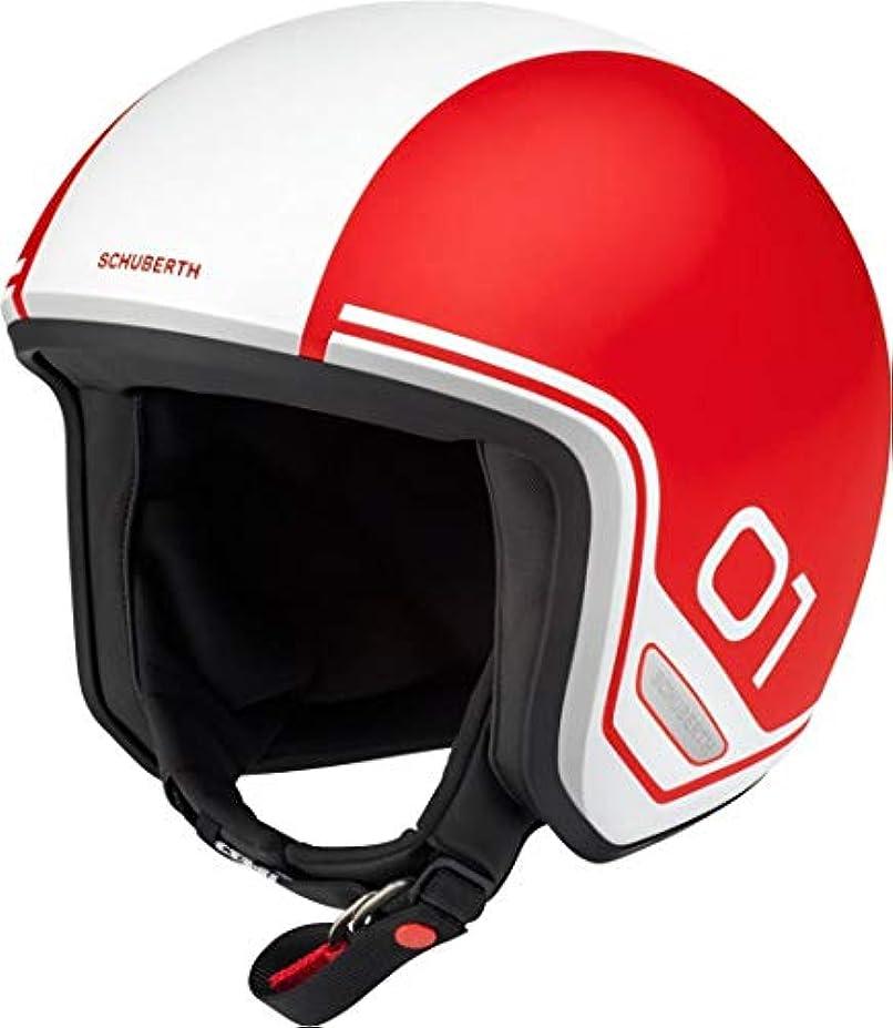 差別するデザイナー診療所シューベルト / SCHUBERTH ジェット ヘルメット O1, カラー:Era レッド, サイズ:53