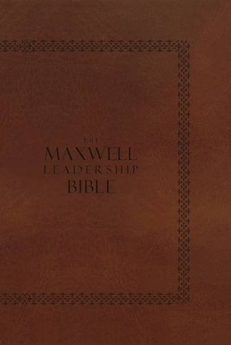 Download The Maxwell Leadership Bible: New King James Version, Coffee Bean Leathersoft 0718011538
