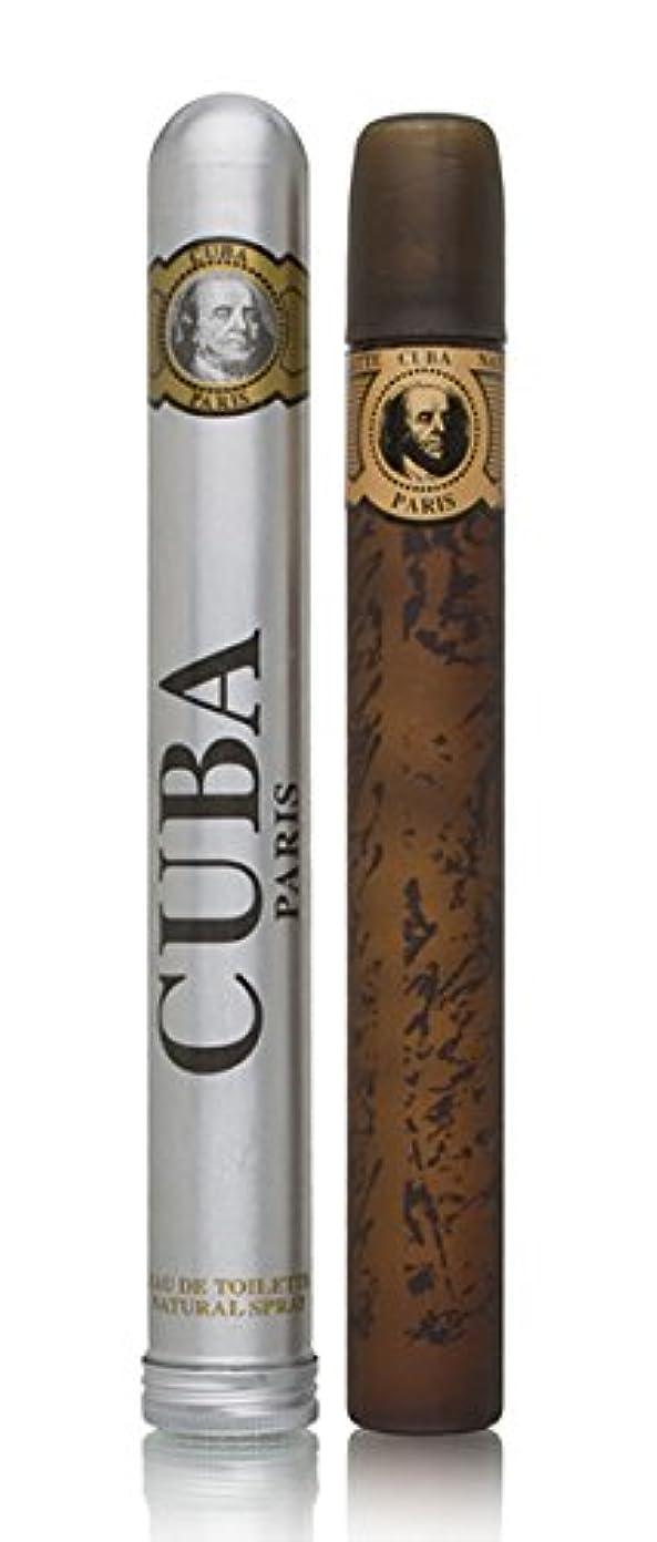 アンプインスタンス建物キューバ CUBA キューバ ゴールド EDT SP 35ml