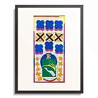 アンリ・マティス Henri Matisse 「Poissons chinois.(Chinese fish) 1951.」 額装アート作品