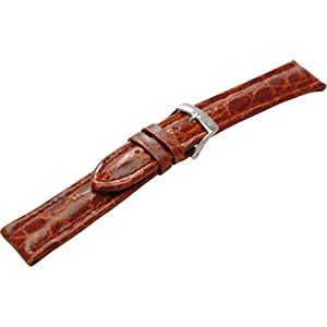 [モレラート]MORELLATO TIPO BREITLING 3 ティポ ブライトリング 時計ベルト 20mm ゴールドブラウン クロコダイル時計ベルト U2120 052 041 020
