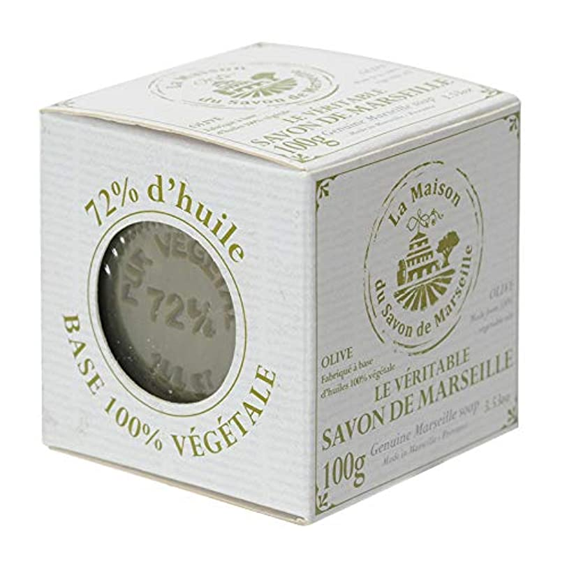 エンコミウム他のバンドで肥料ノルコーポレーション マルセイユ石鹸 オリーブ UPSM認証マーク付き 100g MLL-4-1