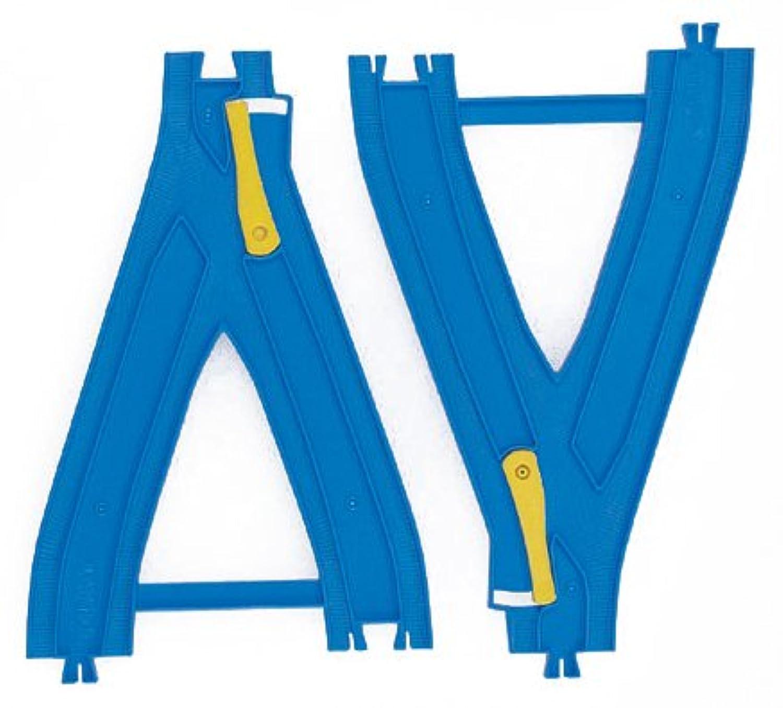 プラレール Y字ポイントレール(2種各1本入) R-22