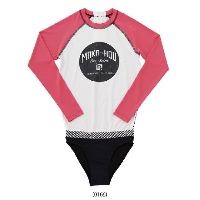 MAKA-HOU マカホー 長袖 ラッシュガード レディース [21W05-41S] Rash Guard & Bikini Pants ホットパンツ 一体型水着 マカホウ